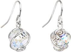 Preciosa Romantyczny Kolczyki Koraliki Kryształ AB 6716 42 srebro 925/1000
