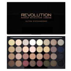 Makeup Revolution Paletka 32 očních stínů Flawless