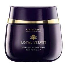 Oriflame Krem na noc regenerujący Royal Velvet (Repairing Night Cream) 50 ml