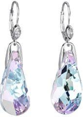 Preciosa Náušnice Crystal Beauty Vitrail Light 6801 43 striebro 925/1000
