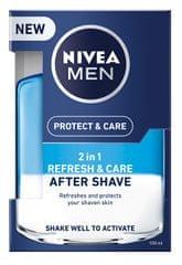 Nivea Pielęgnowanie po goleniu 2w1 Men Refresh & pielęgnacja 100 ml