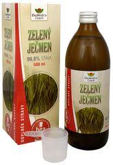 EkoMedica Czech Zelený ječmen - 99,8% šťáva ze zeleného ječmene 500 ml