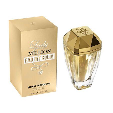Paco Rabanne Lady Million Eau My Gold! - woda toaletowa 80 ml