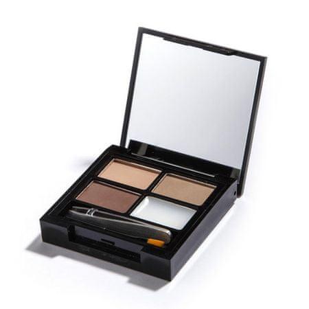 Makeup Revolution Paletka na úpravu obočí Focus & Fix Brow Kit (EyeBrow Shaping Kit) (Odstín Light Medium)