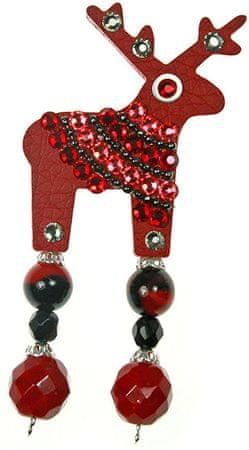 Deers Chuannito apró piros szarvas