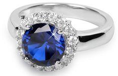 Silver Cat Srebrni prstan s kristali SC022 srebro 925/1000