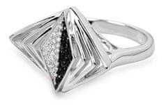 Silver Cat Srebrni prstan s kristali SC049 srebro 925/1000