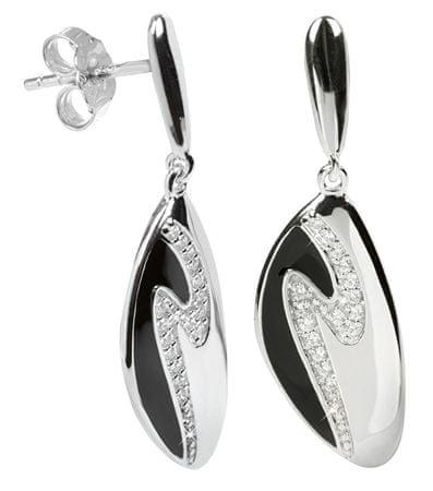 Silver Cat Ezüst fülbevaló kristályokkal SC036 ezüst 925/1000