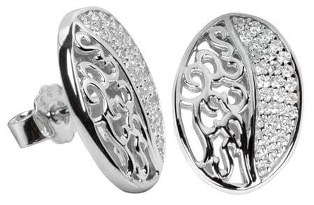 Silver Cat Ezüst fülbevaló kristályokkal SC045 ezüst 925/1000