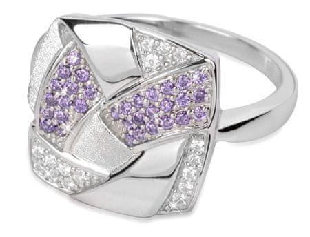 Silver Cat Ezüst gyűrű kristályokkal SC058 (áramkör 60 mm) ezüst 925/1000