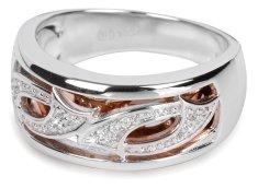 Silver Cat Srebrni prstan s kristali SC064 srebro 925/1000