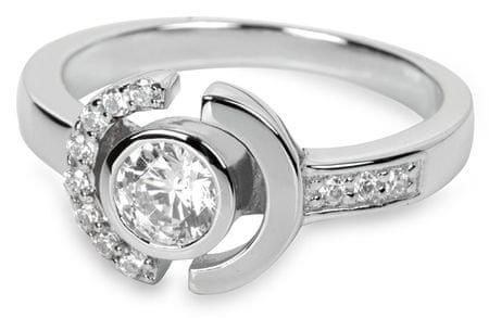 Silver Cat Srebrni prstan s kristali SC079 (Vezje 56 mm) srebro 925/1000