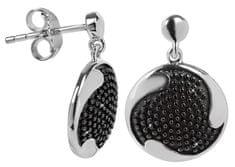 Silver Cat Srebra kolczyków z kryształami SC087 srebro 925/1000