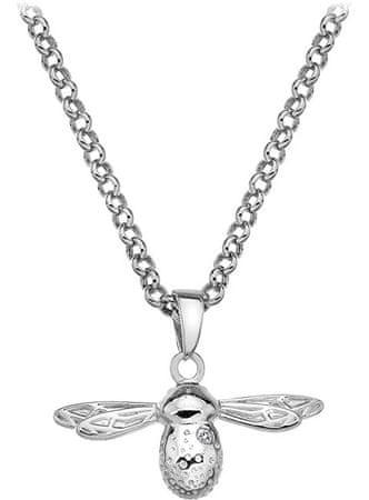Hot Diamonds Náhrdelník Paradise Bee DP565 (řetízek, přívěsek) stříbro 925/1000