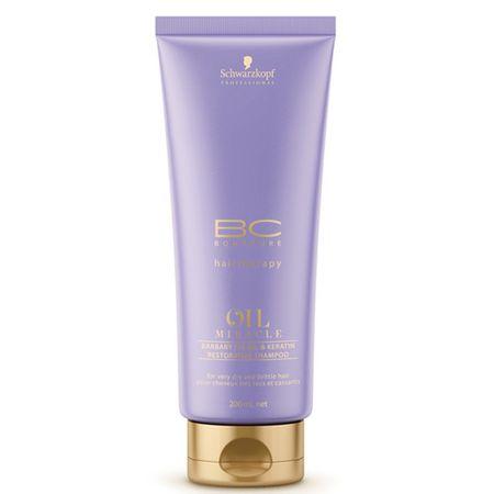 Schwarzkopf Prof. Regenerujący szampon BC Bonacure oleju Miracle (Barbary fig regenerujący szampon) (objętość 200 ml)