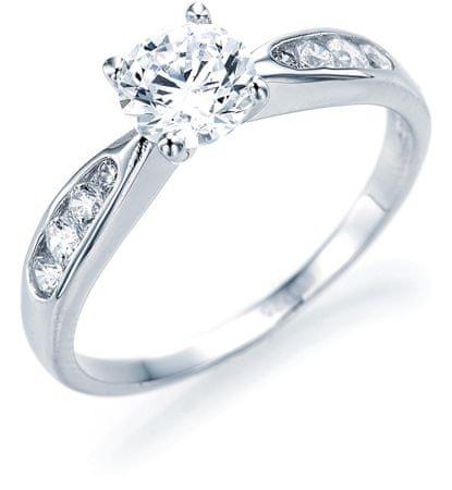 Brilio Silver Ezüst eljegyzési gyűrű 5177855 (áramkör 52 mm) ezüst 925/1000