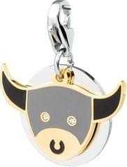 S'Agapõ Happy bika horoszkóp medál SHA02