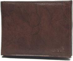 Lagen Moška usnjena denarnica V-104 Brown
