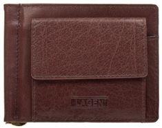 Lagen Moška usnjena denarnica W-2010 Brown