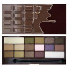 Makeup Revolution Cudowna paleta cieni do powiek Chocolate (Wonder Palette I Heart ) Chocolate (Wonder Palette I Heart