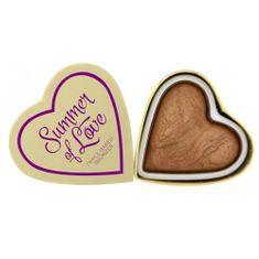 Makeup Revolution Cardiac bronzer Lato KOCHAM kosmetyczne (bronzer Serca Miłość Hot Summer) 10 g