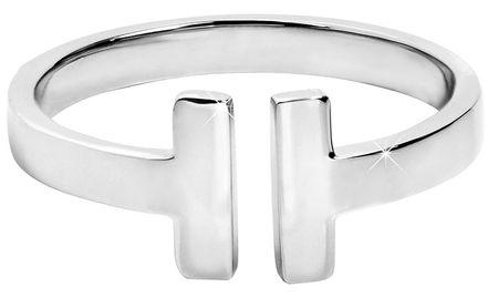 Troli Otwarty pierścień stalowy dla kobiet (obwód 54 mm)