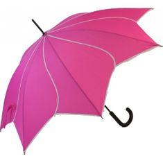 Blooming Brollies Damski Holovaty Flick parasol Swirl Pink EDSSWP