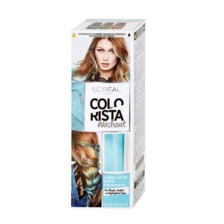 L'Oréal Postupne sa vymývající farba na vlasy Colorista Wash Out (Odtieň 9 Aqua (Pastel))