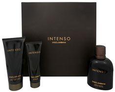Dolce & Gabbana Intenso Pour Homme - woda perfumowana 125 ml + balsam po goleniu 100 ml + żel pod prysznic 50 ml