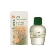 Frais Monde Parfumovaný olej Biely mošus (White Musk PERFUMED Oil) 12 ml