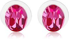 Vicca Kolczyki owalne Różowy OI_405038_pink