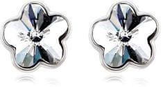 Vicca kolczyki srebrne kwiaty OI_440811_silvery