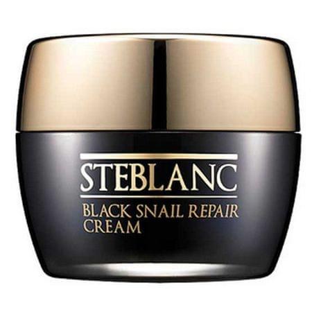 Steblanc Regeneračný pleťový krém s filtrátom hlemýždího sekrétu 92% (Black Snail Repair Cream) 50 ml