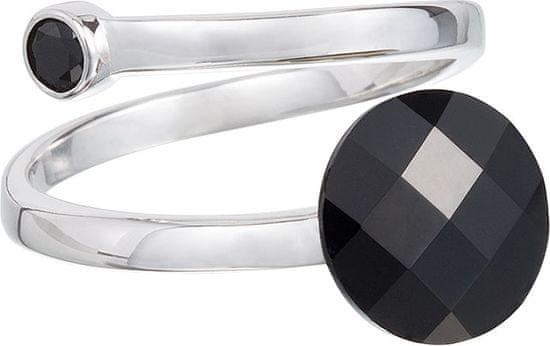 Preciosa Prsteň Dark Style Black 6863 20 striebro 925/1000