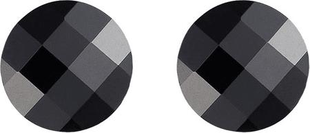 Preciosa Uhani temni slog črni 6862 20 srebro 925/1000