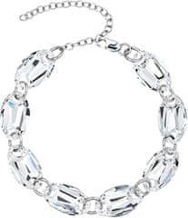 Preciosa Náramok Elegance Crystal 6869 00 striebro 925/1000