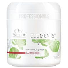 Wella Professional Odżywczo nawilżający Hair Elements Mask (Maska Odnawianie)