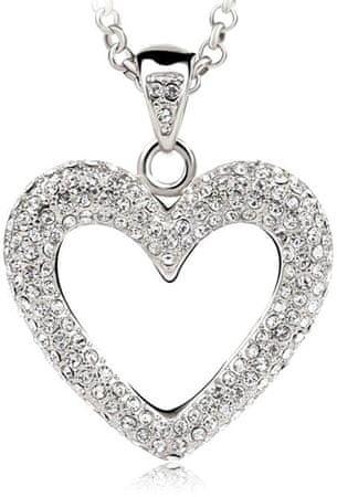 Vicca Wielkie Serce Naszyjnik OI_140240_crystal