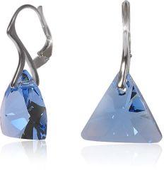 MHM kolczyki Aquamarine Triangle Ag 32199 srebro 925/1000