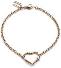 Tommy Hilfiger Náramok so srdiečkom vo farbe ružového zlata TH2700535