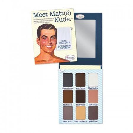theBalm Palette szemhéjfesték Meet Matt (e) Nude 25,5 g