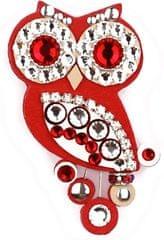 Sovičky czerwona broszka pójdźka