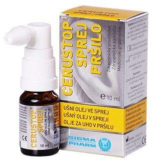 Agency MM Health Cerustop ušné olej v spreji 10 ml