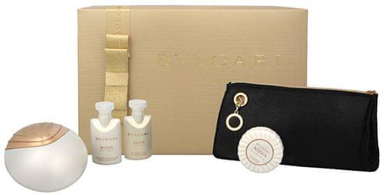 Bvlgari Aqva Divina - EDT 65 ml + telové mlieko 40 ml + sprchový gél 40 ml + mydlo 50 g + kozmetická taška