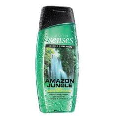 Avon Posilující sprchový gel na vlasy a tělo pro muže (Senses Amazon Jungle)