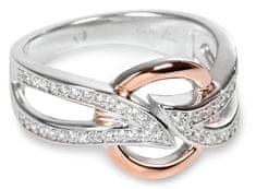 Silver Cat Srebrni prstan s kristali SC139 srebro 925/1000