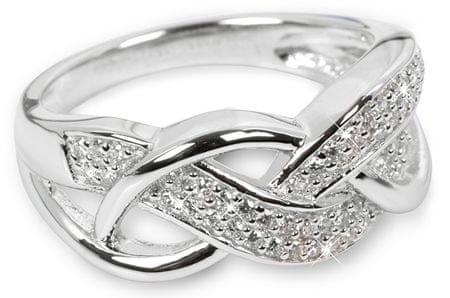 Silver Cat Ezüst gyűrű kristályokkal SC109 (Kerület 56 mm) ezüst 925/1000