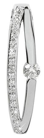 Silver Cat Ezüst medál kristályokkal SC119 ezüst 925/1000