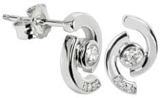 Silver Cat Ezüst fülbevaló kristályokkal SC114 ezüst 925/1000