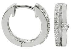 Silver Cat Srebra kolczyków z kryształami SC120 srebro 925/1000